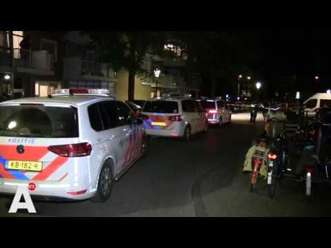 AT5 nieuws: Schietpartij Commelinstraat