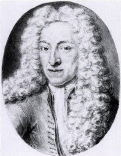Getekend portret Caspar Commelin