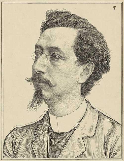 Portret van Nicolaas de Roever door Jan Veth