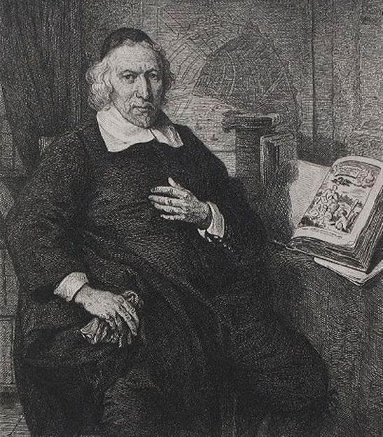 Portret Olfert Dapper
