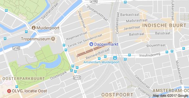 pieter nieuwlandstraat google maps