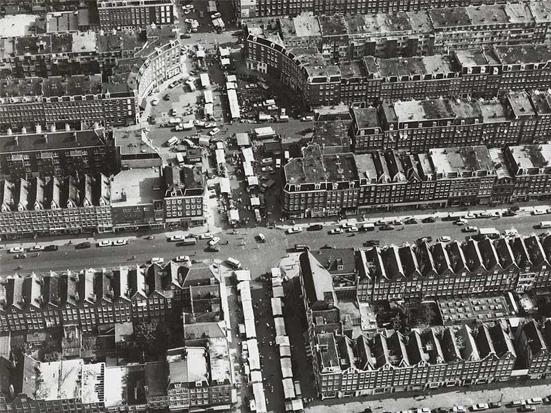 Luchtfoto Dapperplein