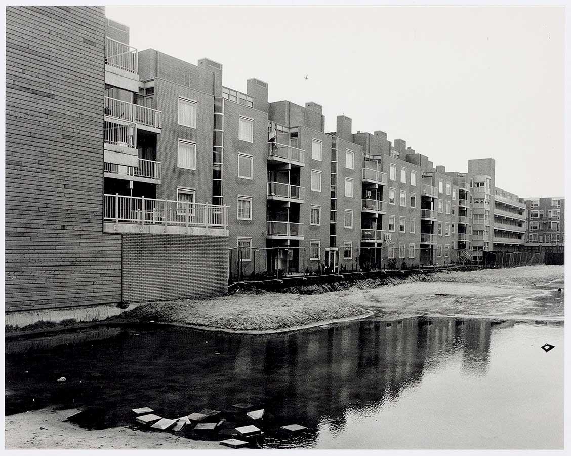 Nieuwbouw Commelinstraat, waarschijnlijk zeer recent opgeleverd