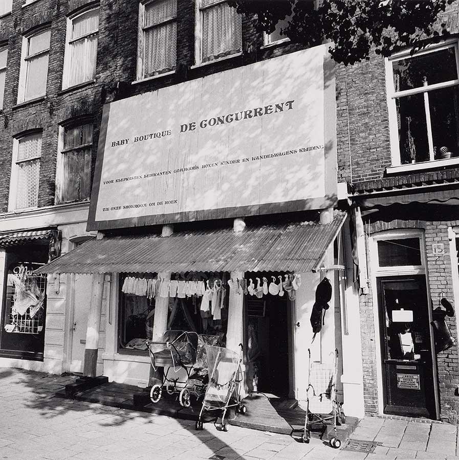 Foto van Dapperstaat nummer 13, Baby Boutique De Concurrent (thans op nummer 141)