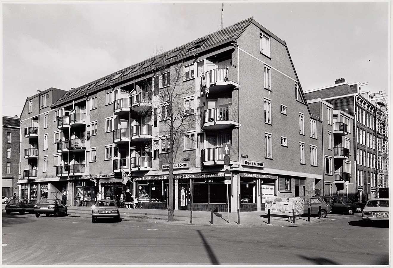 Hoekpand Dapperstraat Reinwardtstraat