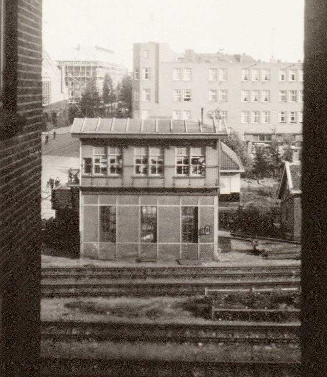 Seinhuisje van het oude Muiderpoortstation