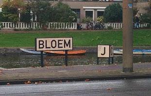 Kunstwerk JC Bloem van Steffen Maas
