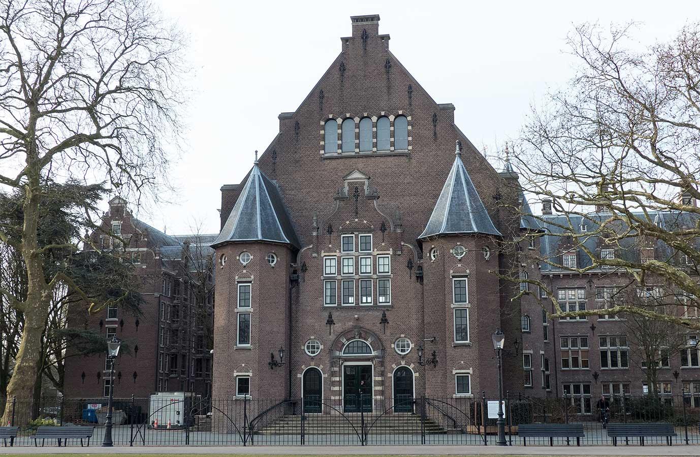 Bijgebouw KIT voorkant, Oosterparkzijde