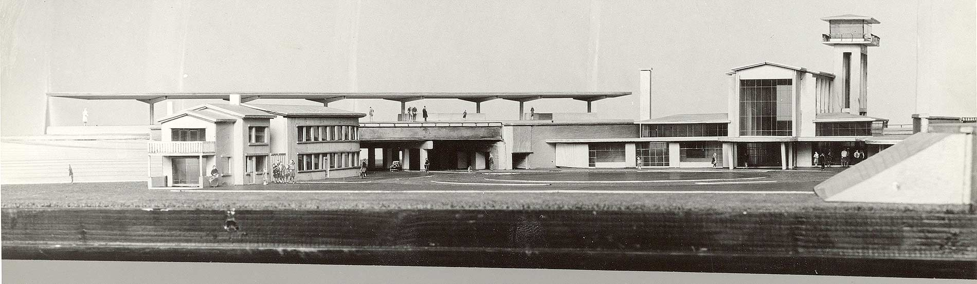 Maquette Muiderpoortstation
