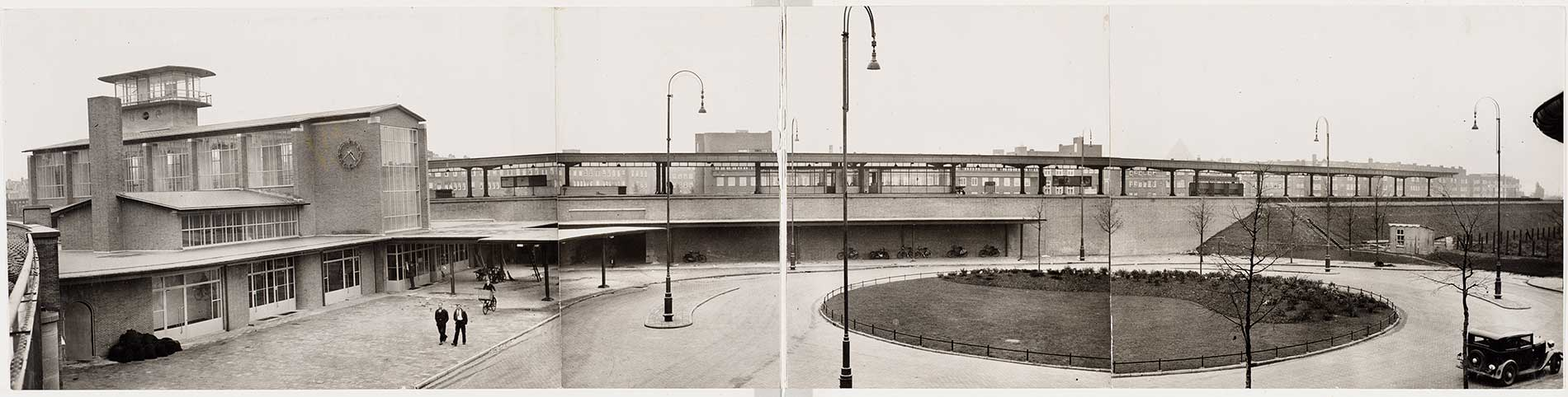 Panorama Station Amsterdam Muiderpoort