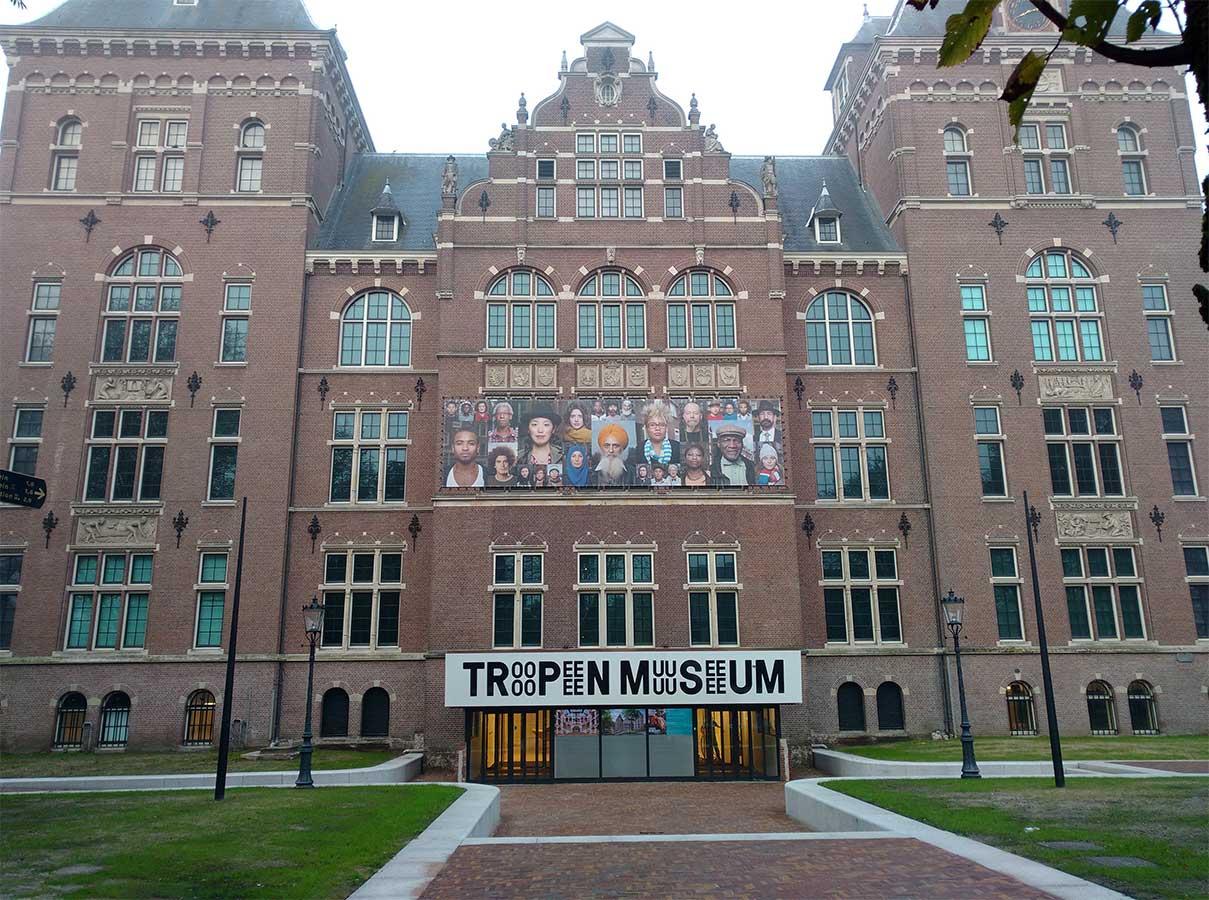 Ingang Tropenmuseum